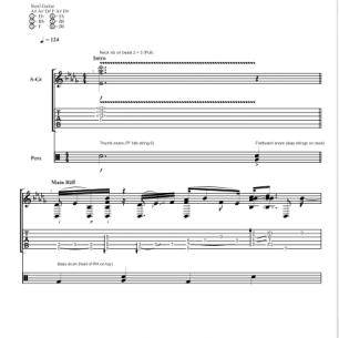 Boogie Slam – Guitar TAB
