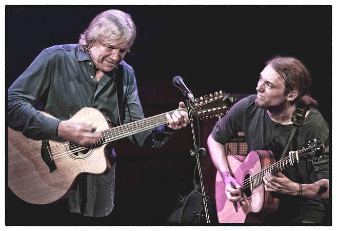 With Justin Hayward in Pittsburgh