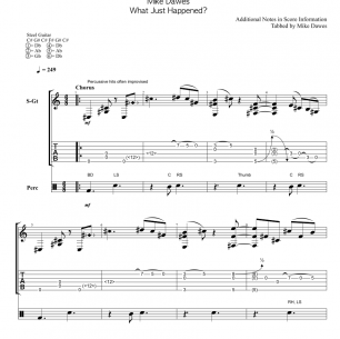 Boogie Shred – Guitar TAB