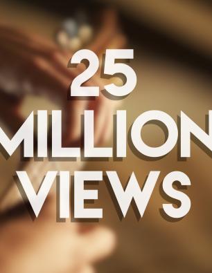 25 MILLION views in 1 week