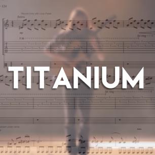 Titanium – Guitar TAB (+MP3)