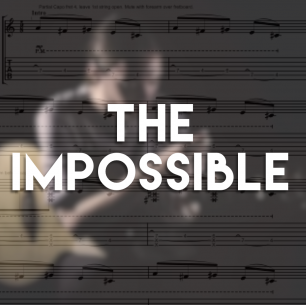 The Impossible – Guitar TAB