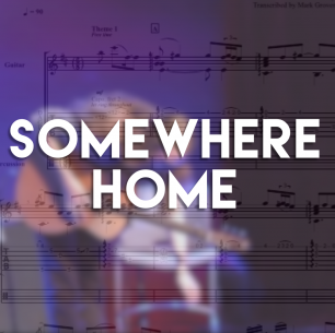 Somewhere Home – Guitar TAB (+MP3)