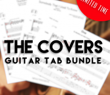 'The Covers' TAB Bundle + MP3's (LIMITED TIME)