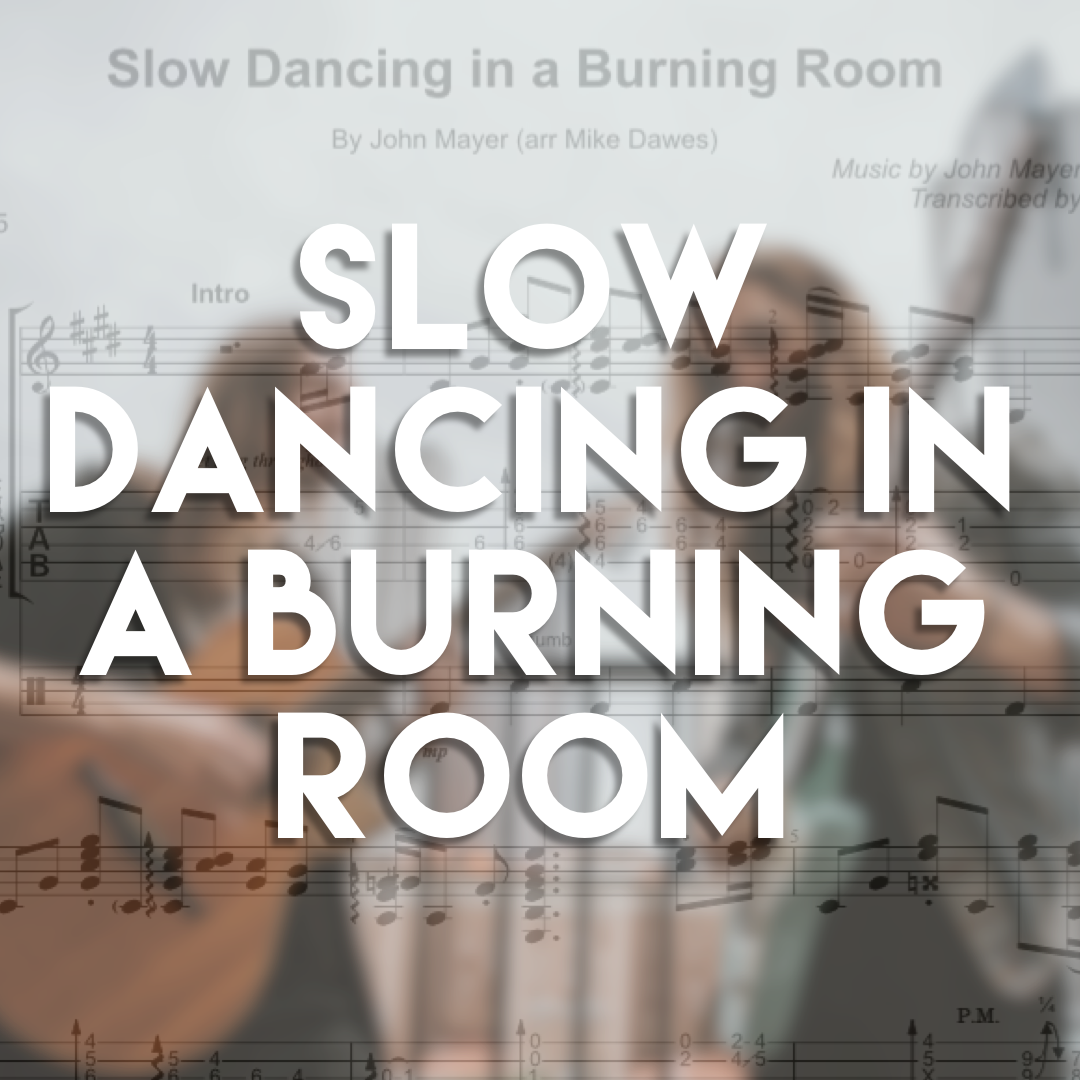 Slow Dancing In A Burning Room Guitar Tab Free Mp3 Mike Dawes