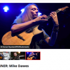 Mike voted 'best acoustic player in the world right now' by MusicRadar