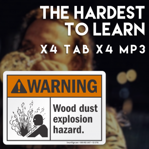 The HARDEST to learn – TAB/MP3 Collection