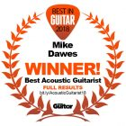Mike voted Best Acoustic Guitarist in the world…again